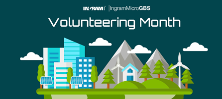 Ingram Micro Volunteering Month
